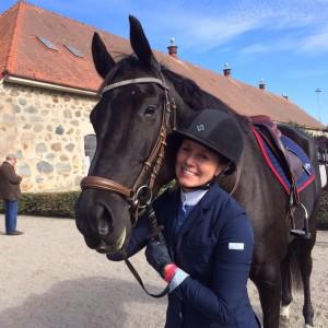 Världens bästa Tiadora e. Diarado- Stanford felfri i finalen för 5 åriga hästar på Flyinge!